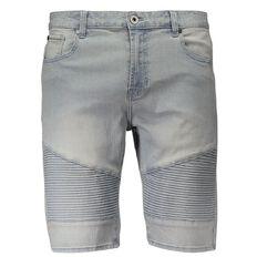 Urban Equip Moto Denim Shorts
