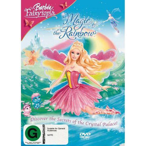 Barbie Magic of The Rainbow DVD 1Disc