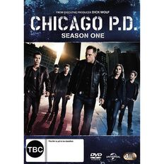 Chicago PD Season 1 DVD 4Disc