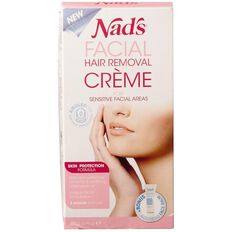 Nads Facial Hair Removal Cream Sensitive 28g