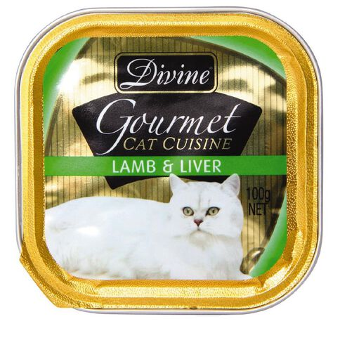Divine Cat Lamb & Liver 100g