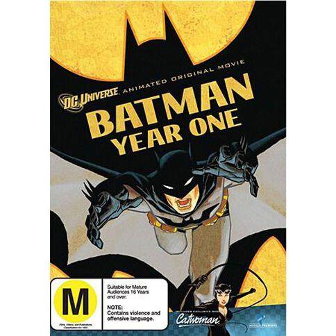 Batman Year One DVD