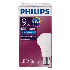 Philips LED Bulb 9-60W B22 6500K 230V A60 AU/PF Cool