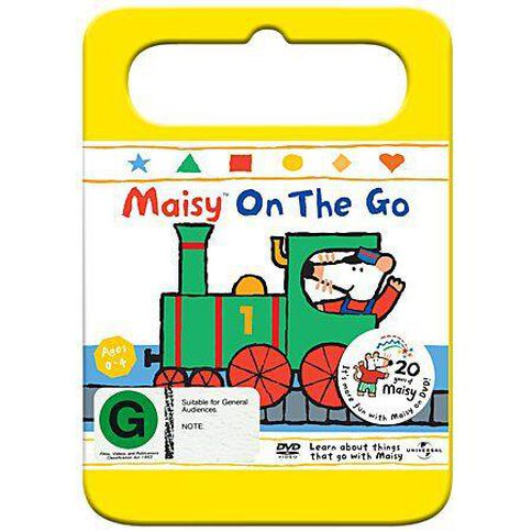 Maisy On The Go Vol 4Yellow Handle Packaging DVD 1Disc
