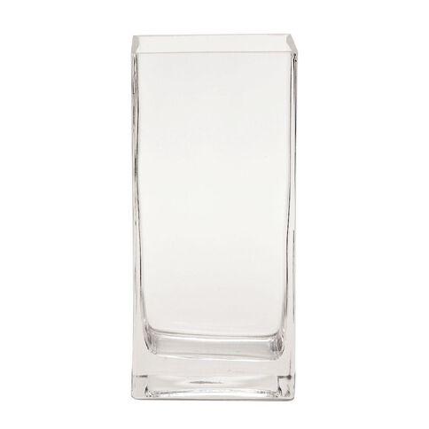 Living & Co Quadro Vase Clear 22.2cm