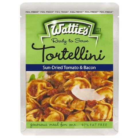 Wattie's Tortellini Meal Sundried Tomato and Bacon 350g
