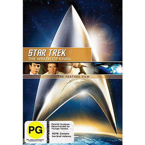 Star Trek Ii Wrath Of Khan The Remastered DVD 1Disc