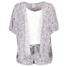 Basics Brand Women's Pyjama Set 3 Piece