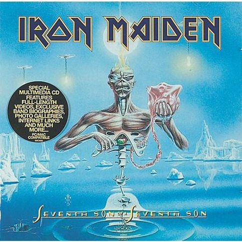 Seventh Son of a Seventh Son CD by Iron Maiden 1Disc