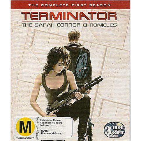 Sarah Connor Chronicles Season 1 (Blu-ray) 3 Blu-ray Discs