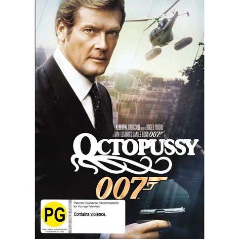 Octopussy 2012 Version DVD 1Disc