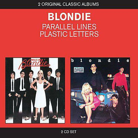 2in1 Parallel Lines/Plastic Letters CD by Blondie 2Disc