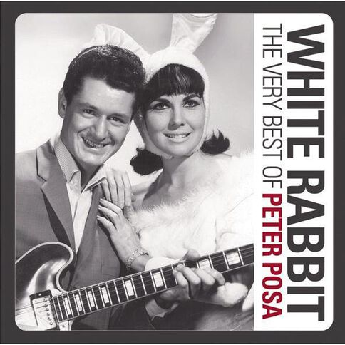 White Rabbit The Very Best of CD by Peter Posa 1Disc