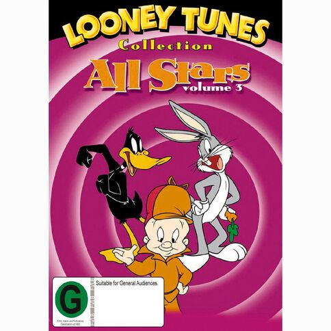Looney Tunes All Stars Volume 3 DVD 1Disc