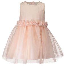 Hippo + Friends Toddler Girl Sequence Mesh Dress