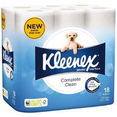 Kleenex Toilet Tissues White 18 Pack