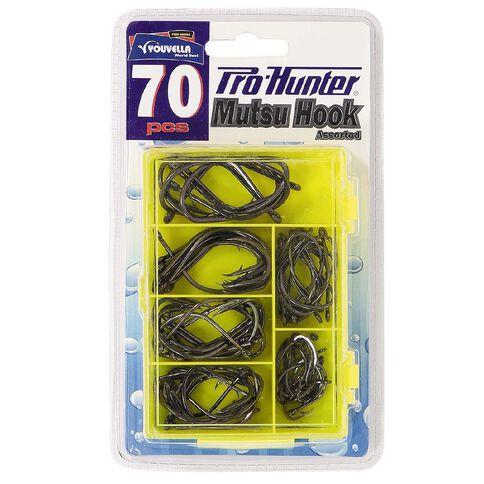 Pro Hunter Fishing Hooks Mutsu 70 Piece