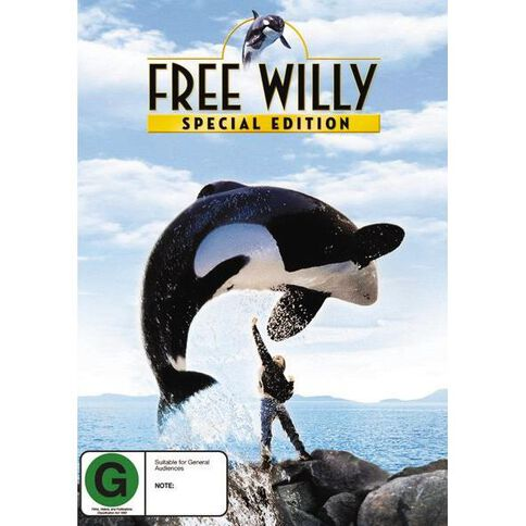 Free Willy DVD 1Disc
