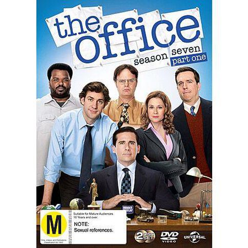 Office The Season 7 Part 1 DVD 1Disc