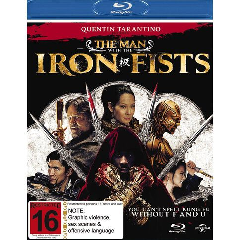 Man with The Iron Fists Blu-ray 1Disc