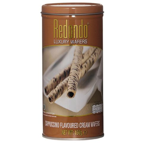 Redondo Luxury Cappuccino Cream Wafers 150g
