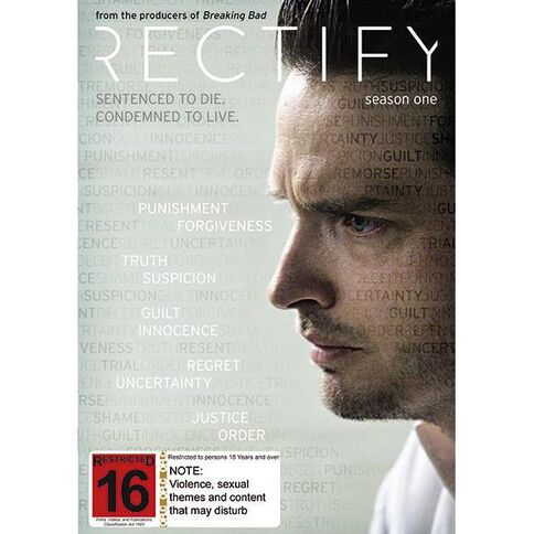 Rectify Season 1 DVD 2Disc