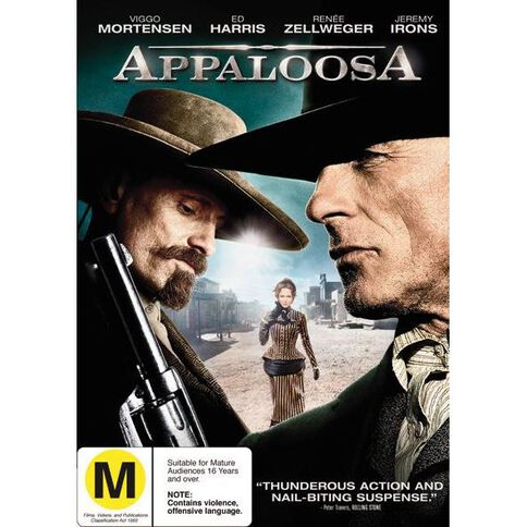 Appaloosa DVD 1Disc