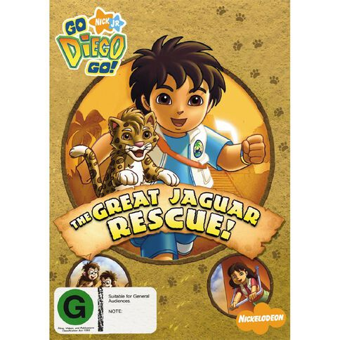 Go Diego Go The Great Jaguar Rescue DVD 1Disc