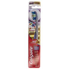 Colgate 360 Advanced Toothbrush Assorted Colours Medium