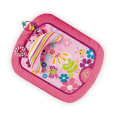 Bright Starts Flutter Friends Pink Prop Mat