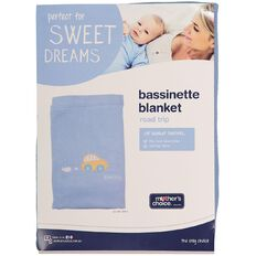 Mother's Choice Bassinette Blanket - Road Trip