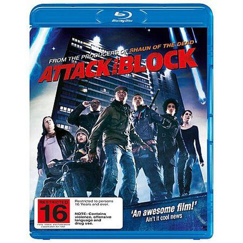 Attack the Block Blu-ray 1Disc