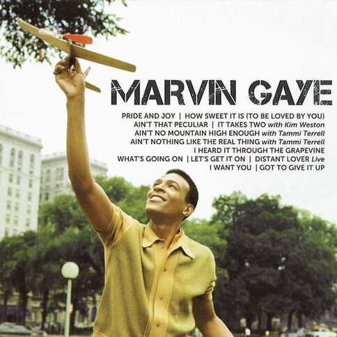 Icon CD by Marvin Gaye 1Disc
