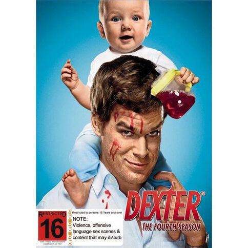 Dexter Season 4 DVD 4Disc