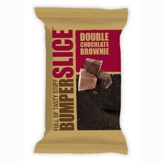 Bumper Bars Double Chocolate Brownie Slice