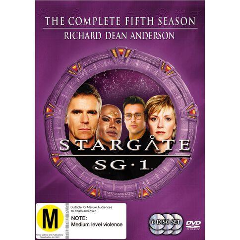Stargate SG1 Season 5 DVD 6Disc