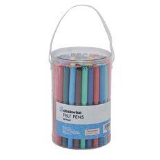 Deskwise Felt Pens 80 Pack