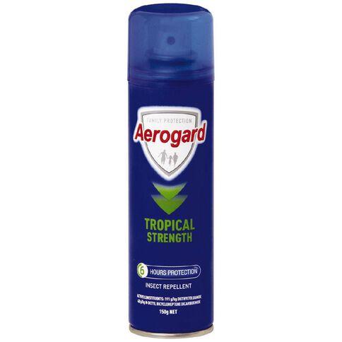 Aerogard Tropical Strength Aerosol 150g