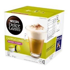 Nescafe Capsules Cappuccino Light 8 Pack