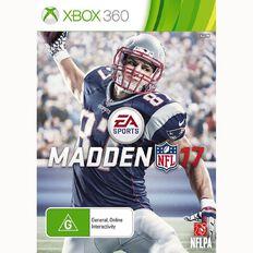 Xbox360 Madden NFL 17