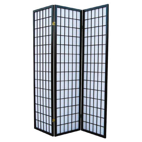 Reside Wooden Folding Screen 3 Panel