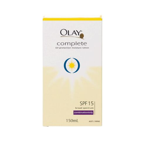 Olay Complete UV Lotion SPF 15 Combination/Oily 150ml