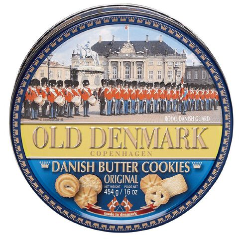 Jacobsens Bakery Old Denmark Danish Butter Cookies 454g