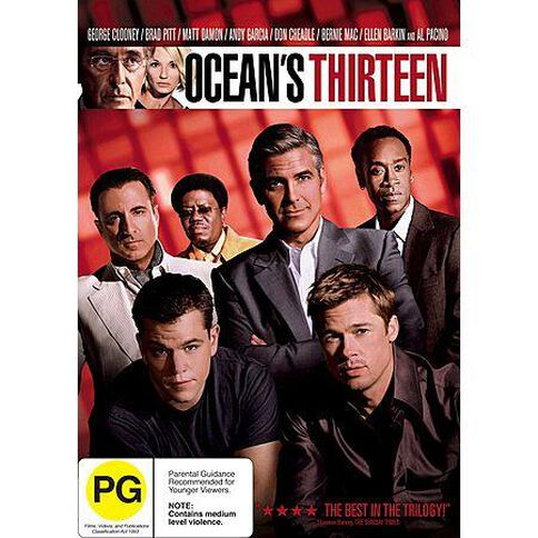 Oceans Thirteen DVD 1Disc