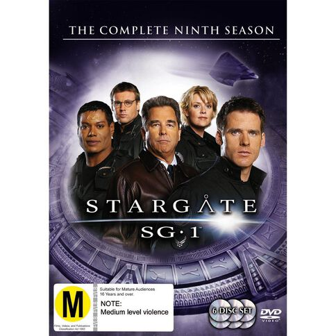 Stargate SG1 Season 9 DVD 6Disc