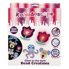 Kaleidoscope Glow in the Dark Bead Creations