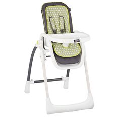 Mother's Choice Hi Lo Highchair Dine with Me Green