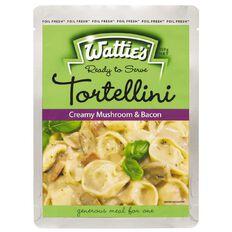 Wattie's Tortellini Meal Chunky Mushroom and Bacon 350g