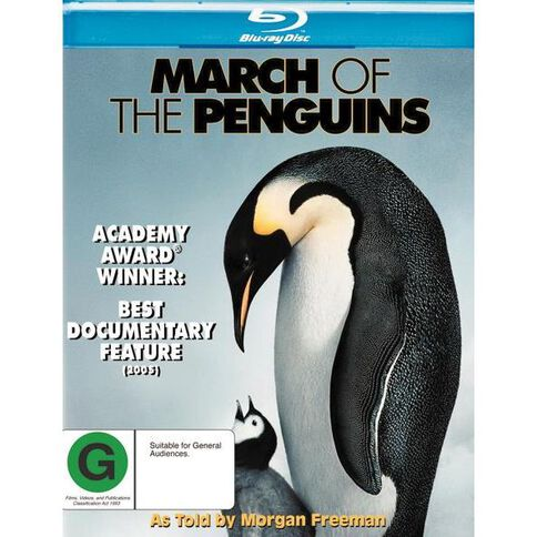 March Of the Penguins Blu-ray 1Disc