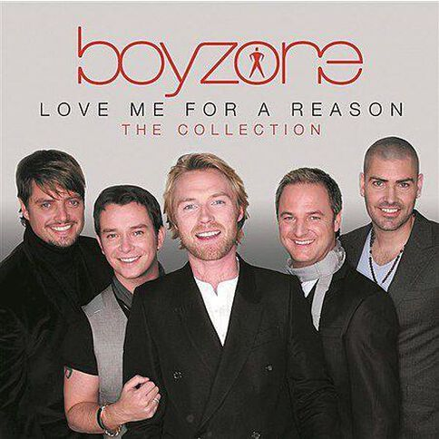 Love Me For A Reason The Collection CD by Boyzone 1Disc